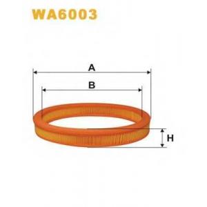 WIX WA6003 Фильтр воздушный FORD ESCORT WA6003/AE250 (пр-во WIX-Filtron UA)