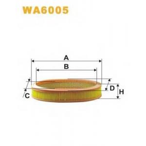 WIX FILTERS WA6005 Фильтр воздушный WA6005/AE277 (пр-во WIX-Filtron)