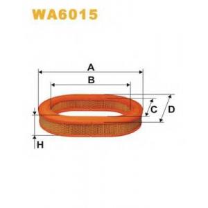 WIX FILTERS WA6015 Фильтр воздушный WA6015/AE331 (пр-во WIX-Filtron)