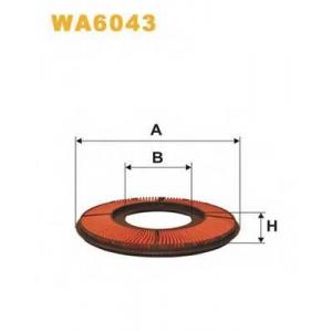 WIX FILTERS WA6043 Фильтр воздушный WA6043/AK325 (пр-во WIX-Filtron)