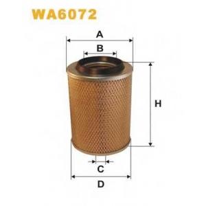 WIX FILTERS WA6072 Фильтр воздушный MB 100 WA6072/AM407/1 (пр-во WIX-Filtron)