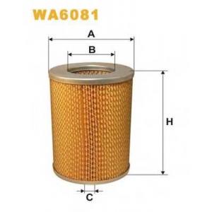 WIX FILTERS WA6081 Фильтр воздушный NISSAN WA6081/AM412 (пр-во WIX-Filtron)