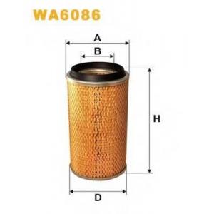WIX FILTERS WA6086 Фильтр воздушный WA6086/415 (пр-во WIX-Filtron)