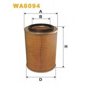 WIX FILTERS WA6094 Фильтр воздушный VW T4 WA6094/AM422 (пр-во WIX-Filtron)