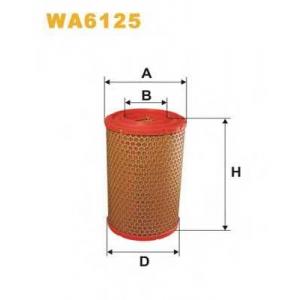 WIXFILTERS WA6125 Фiльтр повiтря 445