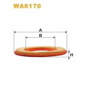 WIX FILTERS WA6170 Фильтр воздушный MB W201 WA6170/AP008 (пр-во WIX-Filtron UA)