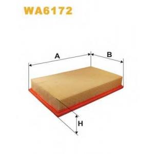 WIX WA6172 Фильтр воздушный MERCEDES WA6172/AP010 (пр-во WIX-Filtron UA)