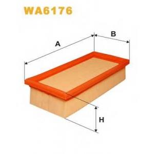 WIX WA6176 Фильтр воздушный VW WA6176/AP013 (пр-во WIX-Filtron UA)
