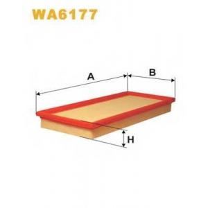 WIX WA6177 Фильтр воздушный SEAT AP014/WA6177 (пр-во WIX-Filtron UA)