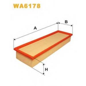 Воздушный фильтр wa6178 wix - OPEL KADETT D (31_-34_, 41_-44_) Наклонная задняя часть 1.6 D