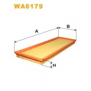 WIX WA6179 Фильтр воздушный FORD ESCORT WA6179/AP016 (пр-во WIX-Filtron UA)