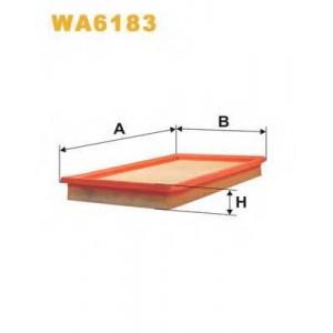 Воздушный фильтр wa6183 wix - OPEL CORSA A Наклонная задняя часть (93_, 94_, 98_, 99_) Наклонная задняя часть 1.5 D