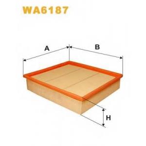 Воздушный фильтр wa6187 wix - FORD TRANSIT фургон (T_ _) фургон 2.5 D (TAL, TAS, TGL, TWS)