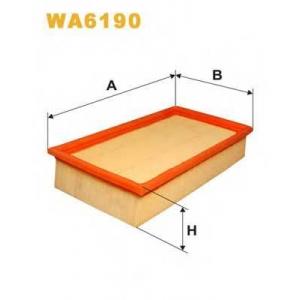 Воздушный фильтр wa6190 wix - BMW 3 (E30) седан 316 i