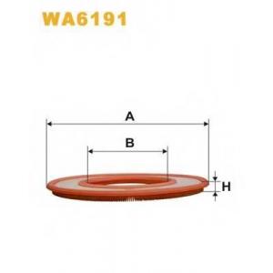 WIX FILTERS WA6191 Фильтр воздушный BMW WA6191/AP027 (пр-во WIX-Filtron)