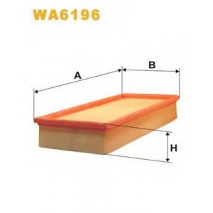 WIX WA6196 Фильтр воздушный BMW WA6196/AP031 (пр-во WIX-Filtron UA)