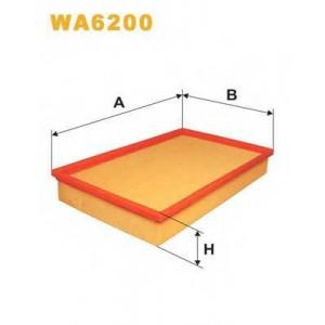 WIX WA6200 Фильтр воздушный FIAT WA6200/AP038 (пр-во WIX-Filtron UA)