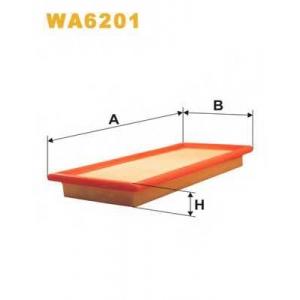 WIX WA6201 Фильтр воздушный FIAT AP039/WA6201 (пр-во WIX-Filtron UA)