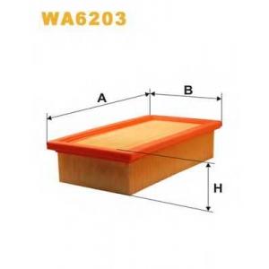 WIX WA6203 Фильтр воздушный FIAT WA6203/AP041 (пр-во WIX-Filtron UA)
