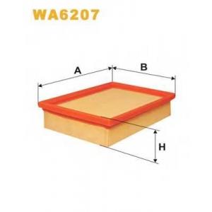 WIX WA6207 Фильтр воздушный WA6207/AP045 (пр-во WIX-Filtron UA)