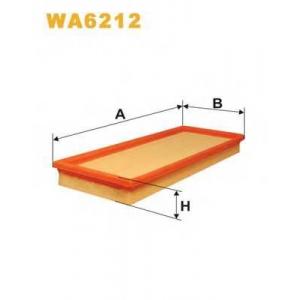 WIX FILTERS WA6212 Фильтр воздушный OPEL WA6212/AP049 (пр-во WIX-Filtron)