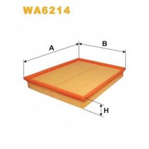 WIX WA6214 Фильтр воздушный OPEL WA6214/AP051 (пр-во WIX-Filtron UA)