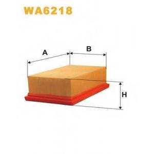 WIX WA6218 Фильтр воздушный OPEL AP055/WA6218 (пр-во WIX-Filtron UA)