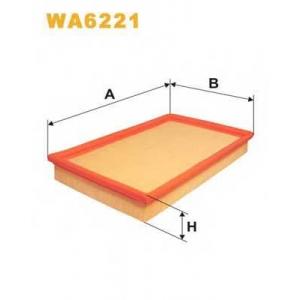 WIX WA6221 Фильтр воздушный OPEL VECTRA WA6221/AP057 (пр-во WIX-Filtron UA)