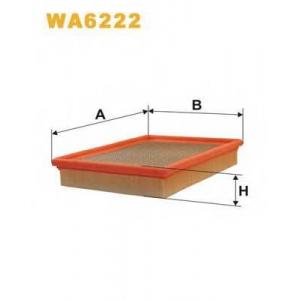 WIX FILTERS WA6222 Фильтр воздушный OPEL WA6222/AP057/1 (пр-во WIX-Filtron)