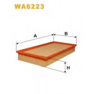WIX WA6223 Фильтр воздушный CITROEN WA6223/AP058 (пр-во WIX-Filtron UA)
