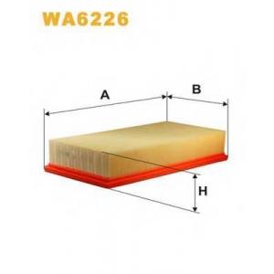 WIX WA6226 Фильтр воздушный FORD TRANSIT WA6226/AP061 (пр-во WIX-Filtron UA)