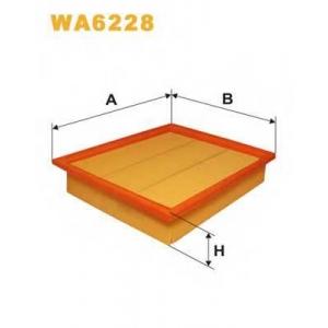wa6228 wix Воздушный фильтр VW GOLF Наклонная задняя часть 1.9 D