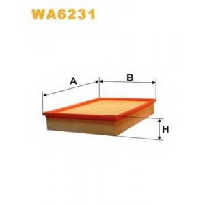 wa6231 wix Воздушный фильтр VOLVO 740 седан 2.4 Diesel