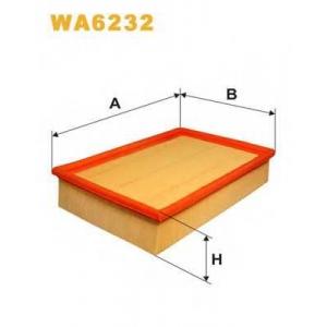 WIX WA6232 Фильтр воздушный FORD WA6232/AP067 (пр-во WIX-Filtron UA)
