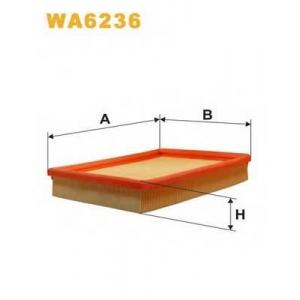 WIX WA6236 Фильтр воздушный OPEL WA6236/AP071 (пр-во WIX-Filtron UA)