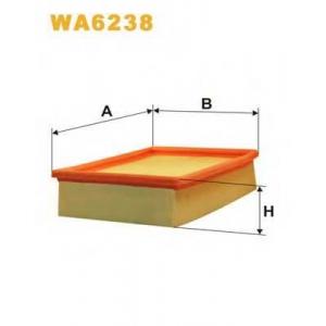 WIXFILTRON WA6238 Фільтр повітряний