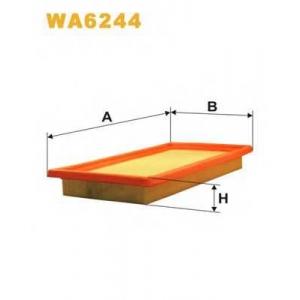 WIX WA6244 Фильтр воздушный WA6244/AP078 (пр-во WIX-Filtron UA)