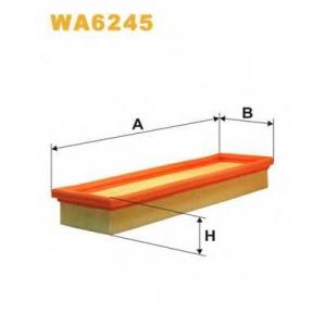 WIX WA6245 Фильтр воздушный WA6245/AP079 (пр-во WIX-Filtron UA)
