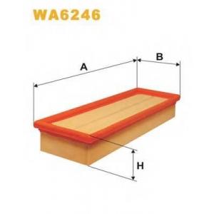 Воздушный фильтр wa6246 wix - CITRO?N ZX (N2) Наклонная задняя часть 1.8 i