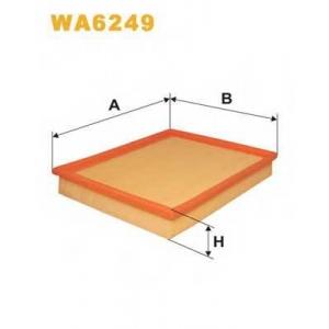 WIX WA6249 Фильтр воздушный OPEL WA6249/AP082 (пр-во WIX-Filtron UA)