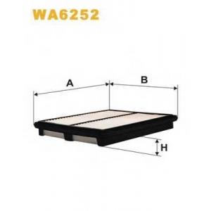 WIX FILTERS WA6252 Фильтр воздушный DAEWOO LEGANZA WA6252/AP082/3 (пр-во WIX-Filtron)