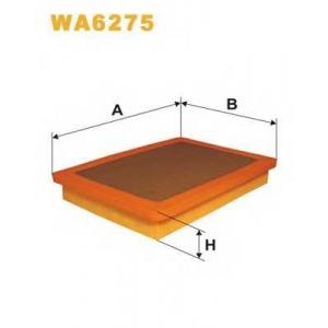 WIX FILTERS WA6275 Фильтр воздушный FIAT WA6275/AP098 (пр-во WIX-Filtron)