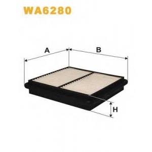 WIX FILTERS WA6280 Фильтр воздушный HONDA WA6280/AP104 (пр-во WIX-Filtron)