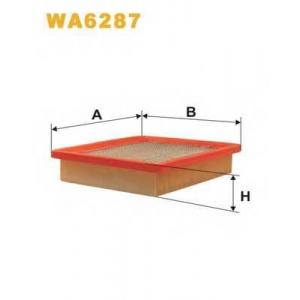 WIX WA6287 Фильтр воздушный WA6287/110 (пр-во WIX-Filtron UA)