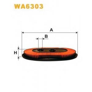 WIX FILTERS WA6303 Фильтр воздушный NISSAN PRIMERA WA6303/AP123/1 (пр-во WIX-Filtron)