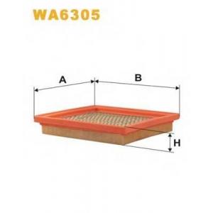 WIX FILTERS WA6305 Фильтр воздушный NISSAN MICRA WA6305/AP124 (пр-во WIX-Filtron)