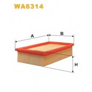 WIX WA6314 Фильтр воздушный WA6314/AP133 (пр-во WIX-Filtron UA)