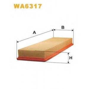 WIXFILTERS WA6317 Фiльтр повiтря 136