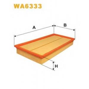 WIX WA6333 Фильтр воздушный AUDI, VW, SKODA WA6333/AP149/1 (пр-во WIX-Filtron UA)