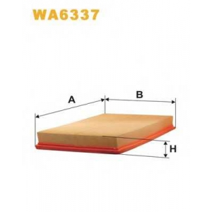 WIXFILTRON WA6337 Фільтр повітряний